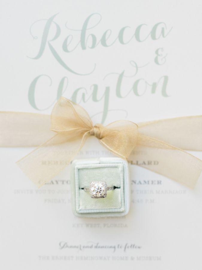 Pretty mint hued Mrs. Box: www.stylemepretty...   Photography: Care Studios - ww...