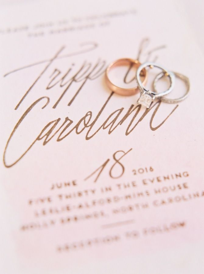 Princess-cut diamond ring: www.stylemepretty... Photography: Perry Vaile - www.p...