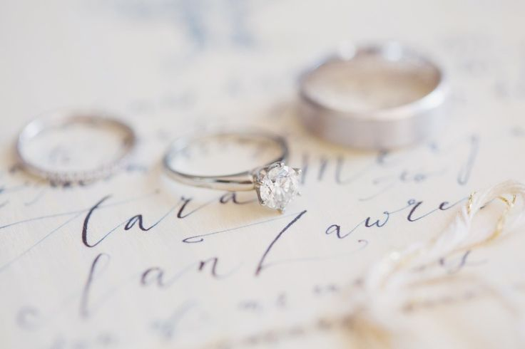 #rings and #calligraphy Photography by lucida-photograph...  Read more - www.sty...