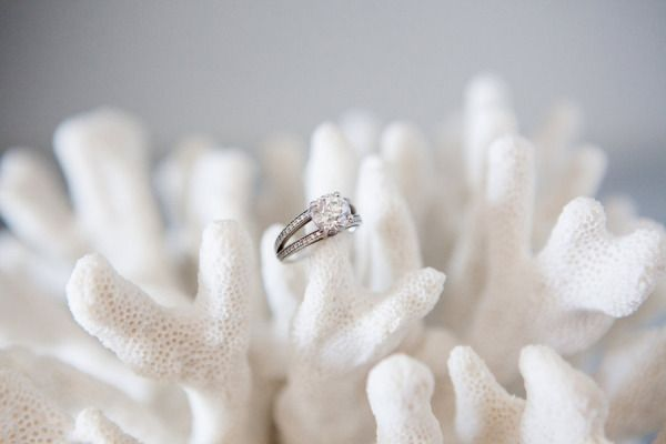 #rings Photography by birdsofafeatherph...    Read more - www.stylemepretty...