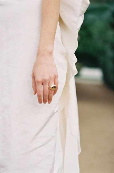 #rings  Photography by chudleighweddings... |  Read more - www.stylemepretty...