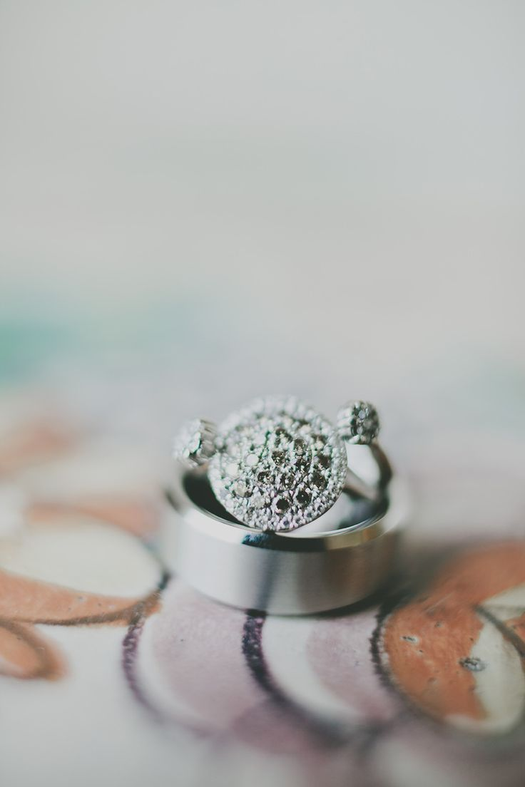 #Rings | See the wedding on www.StyleMePretty... Photography: Justine Montigny