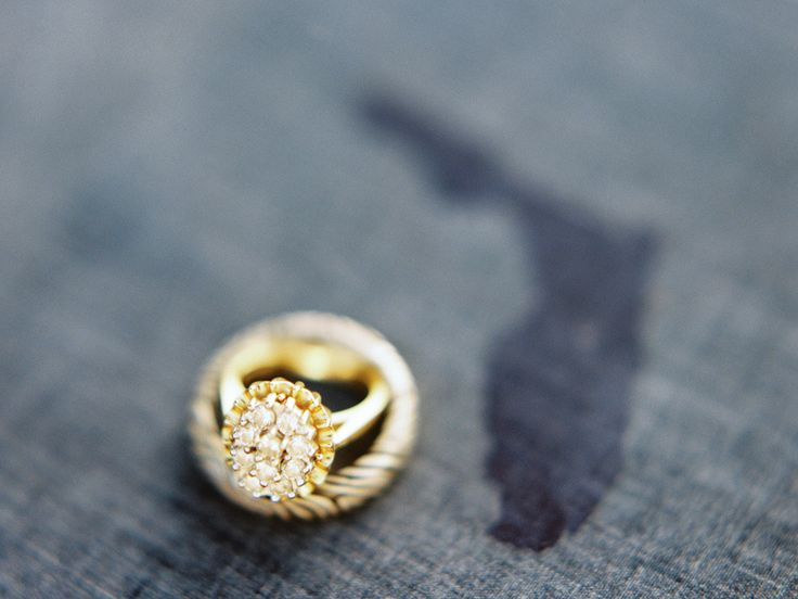 #Rins #Gold Photography by ryanrayphoto.com  Read more - www.stylemepretty...