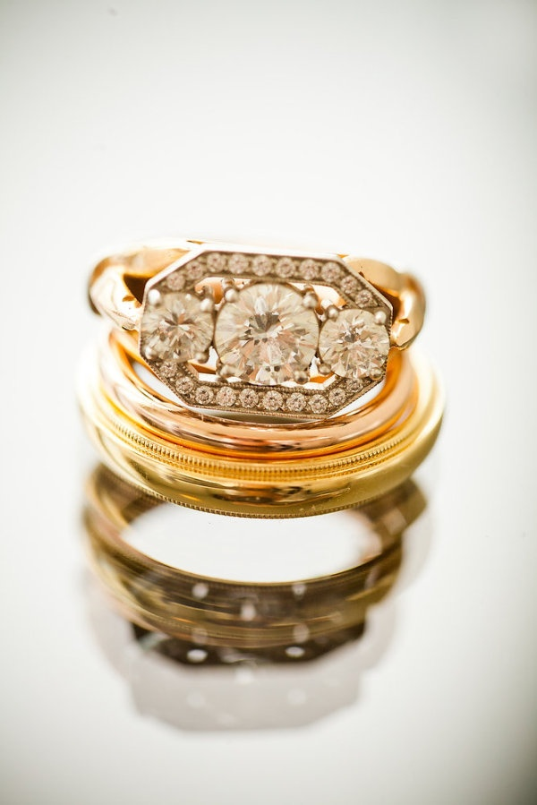 stacks of gorgeous rings are one of our favorite things  Photography by daverobb...