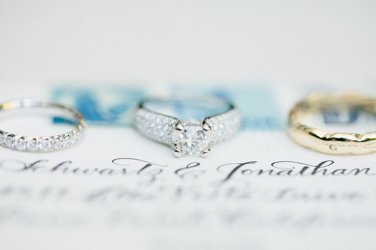 Wedding and Engagement Rings | Photo by Erin Hearts Court | On SMP www.stylemepr...