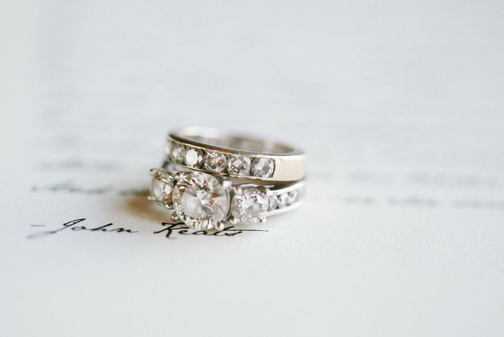 Wedding Ring | Engagement Ring | See More on SMP: www.stylemepretty... | Arielle...