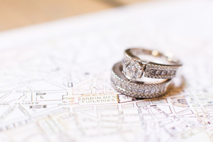 Wedding Ring | On SMP: www.stylemepretty... | One and Only Paris Photography