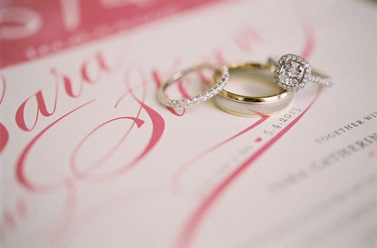 wedding #rings and bands Photography: Jen Fariello Photography - jenfariello.com...