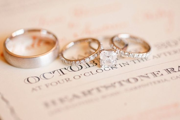 Wedding Rings | On SMP: www.stylemepretty...