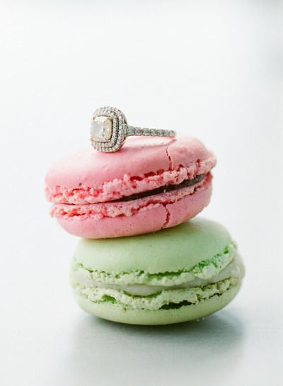 We're enamored with this engagement ring: www.stylemepretty...   Photography: Gr...