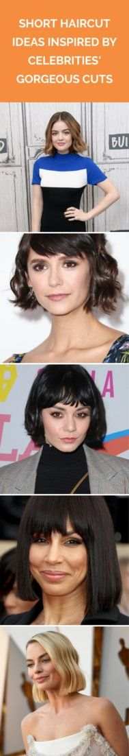 Short Haircut Ideas Inspired by Celebrities' Gorgeous Cuts | Ava Phillippe, ...