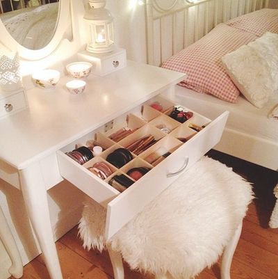 20 Clever Ways to Organize Your Makeup Clutter                                  ...