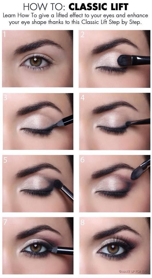 A Stunning Makeup Tutorial for Brown Eyes. This makeup tutorial for brown eyes w...