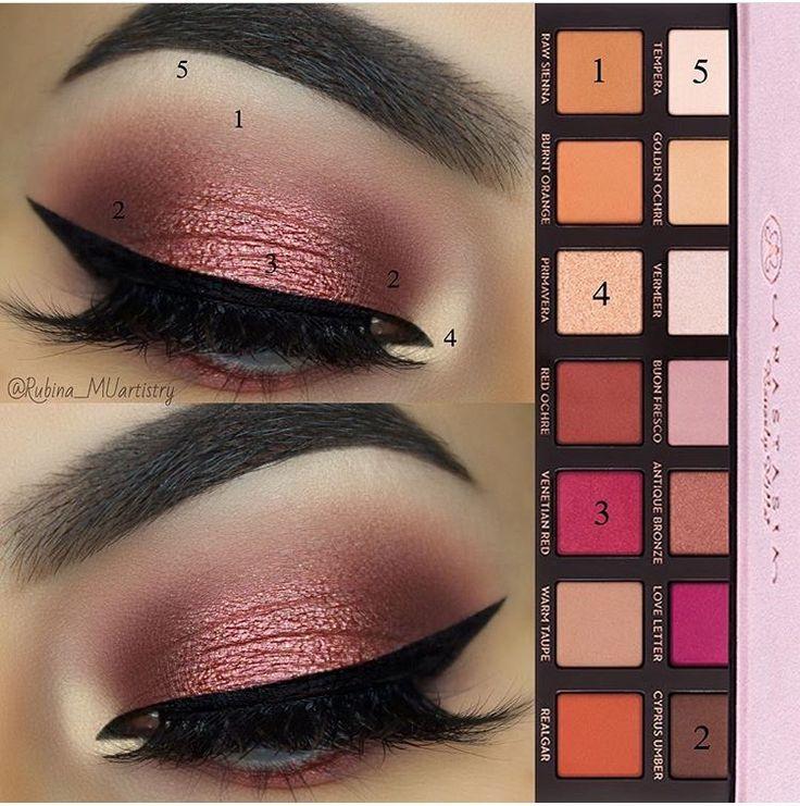 Anastasia palette look Beauty & Personal Care amzn.to/2kaLGnP