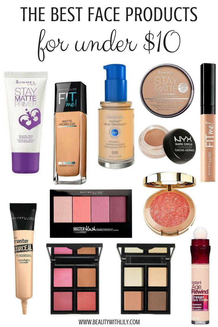 Best Face Makeup UNDER $10 // Affordable Makeup Products // Cheap & GOOD Makeup ...