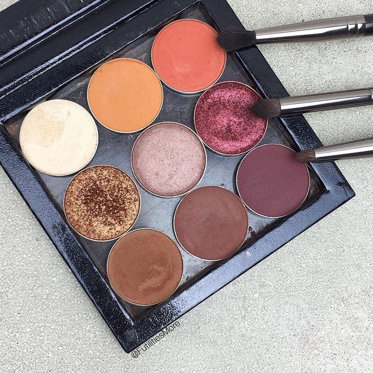 Best Fall Eyeshadow palette from Makeup Geek