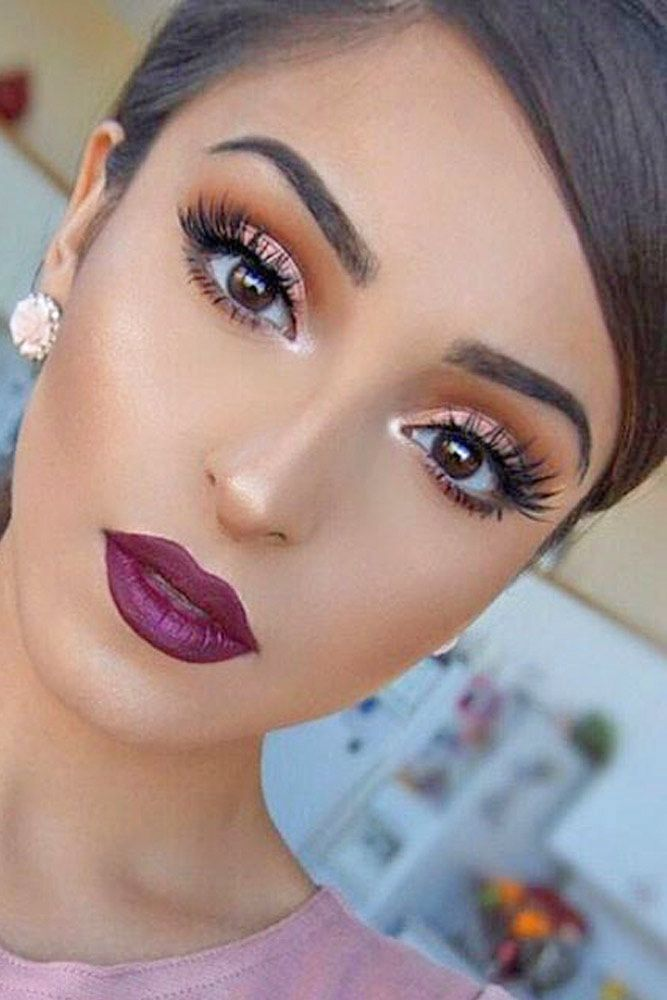 Charming Rose Gold Makeup Looks from Day to Night ★ See more: glaminati.co...
