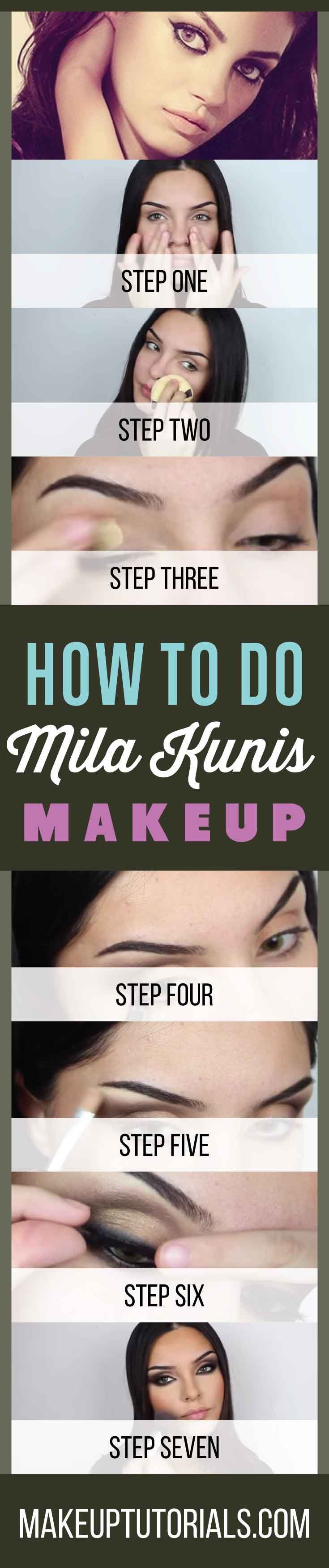 How To Do Mila Kunis Makeup Tutorials | Easy DIY Makeup Ideas & Tips For Doing Y...