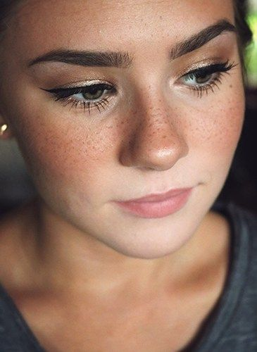 How to fake freckles like a pro ♥