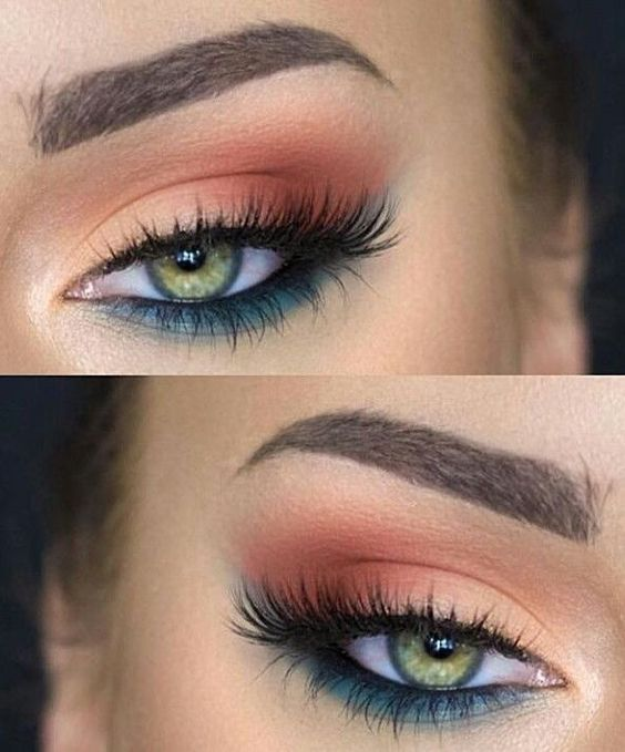 I used drugstore stuff to get the exact same look. Rimmel Retro Glam mascara, co...