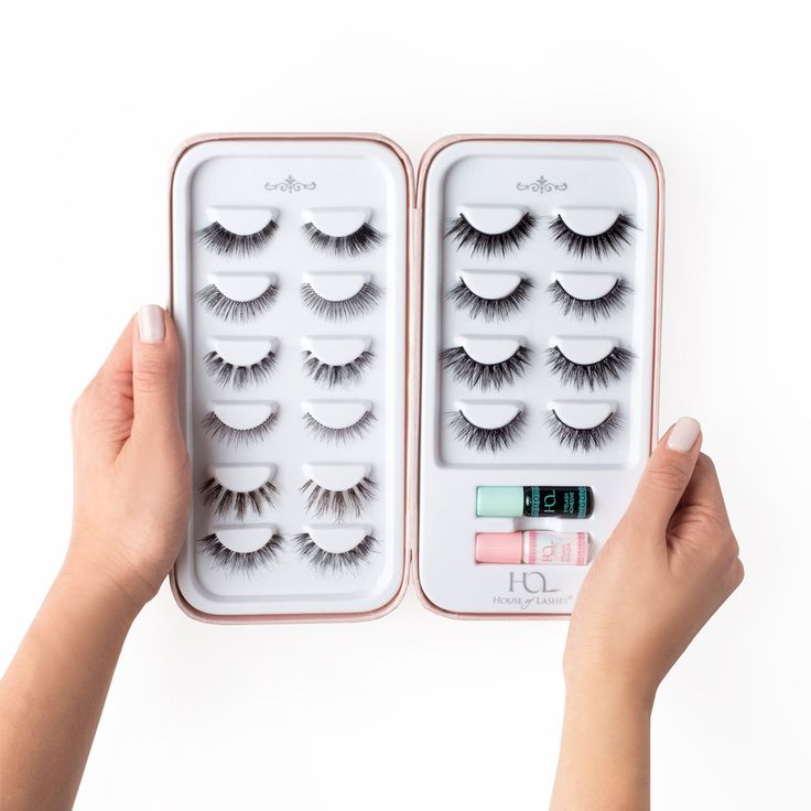 *Lashes & Mini Lash Adhesive Set Sold Separately Need more space for your lash s...