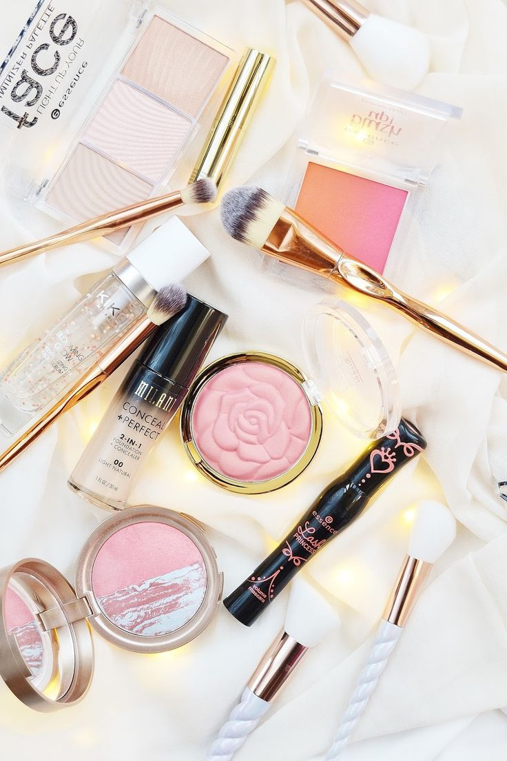 Prepare to swoon over these budget beauty products! A line-up of really pretty m...