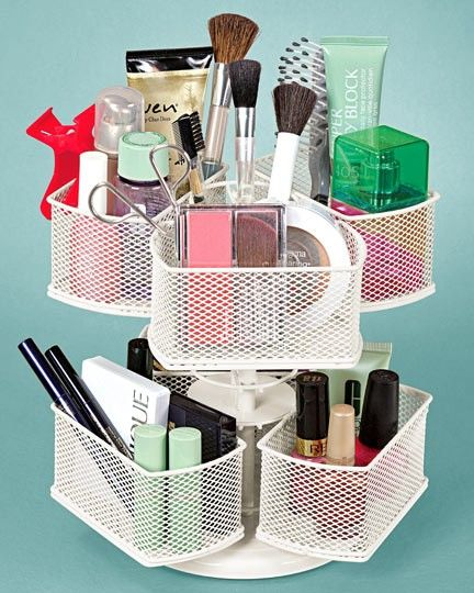 Super Cool: This Lazy Susan Was Made Especially for Your Makeup!: Girls in the B...