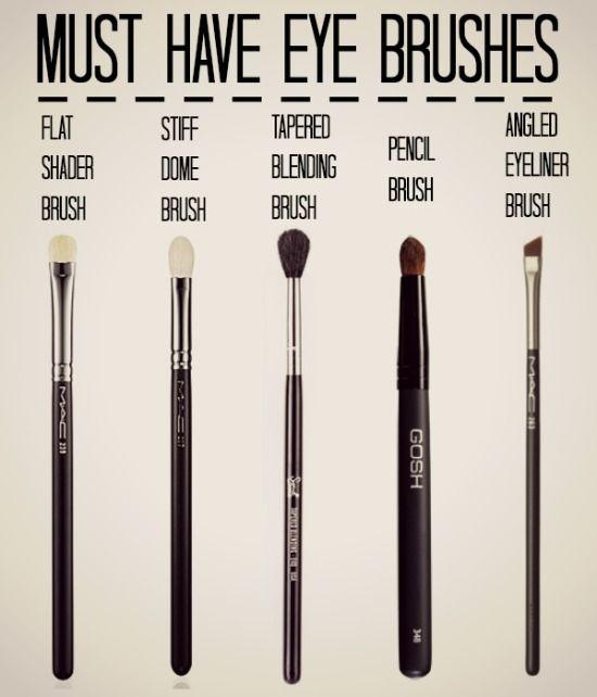 Must Have Eye Brushes  Brochas para maquillaje de ojos