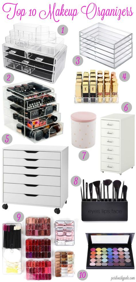 Top 10 Ways to Organize Your Makeup | Super Easy Cute and Cheap DIY Makeup Organ...