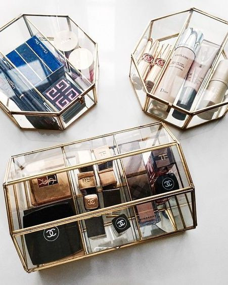Treating your best-packaged beauty items like vanity jewelry will make your spac...