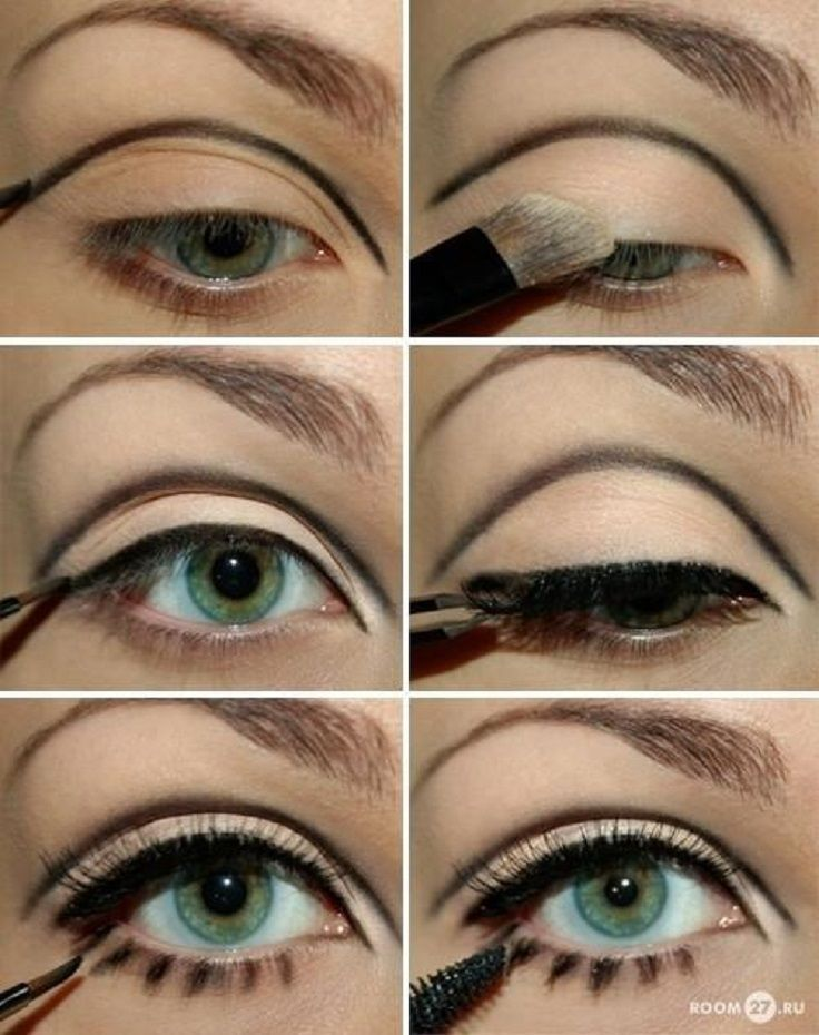 Tutorial for big eyes like Twiggy. Master the Mod Squad eye look makeup from Bea...
