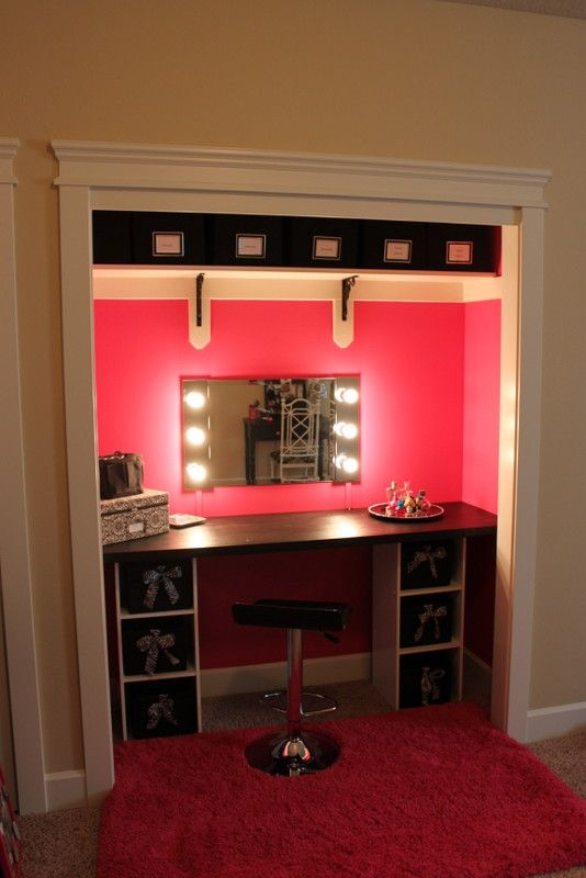 Vanity/Closet Project, and