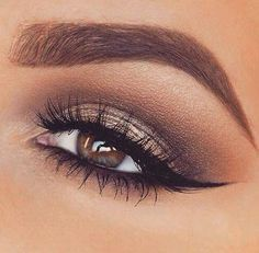 wedding makeup for brunettes with brown eyes - Google Search