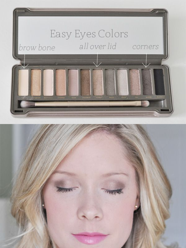 Easy Eyes with the Urban Decay Naked 2 palette used to have this palette and the...