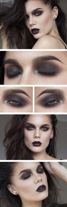 Gorgeous makeup/ False lashes/ Sexy Look/ Makeup Tutorial/ Makeup Ideas/ Foundat...