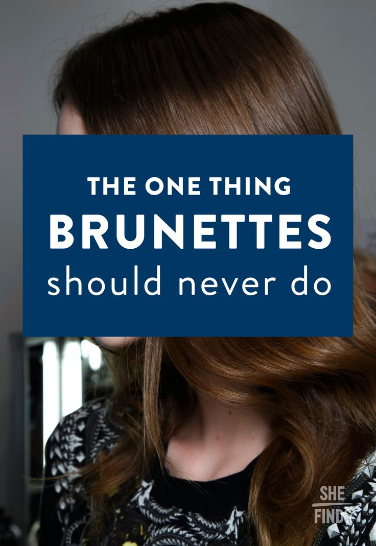 How to take care of brunette hair