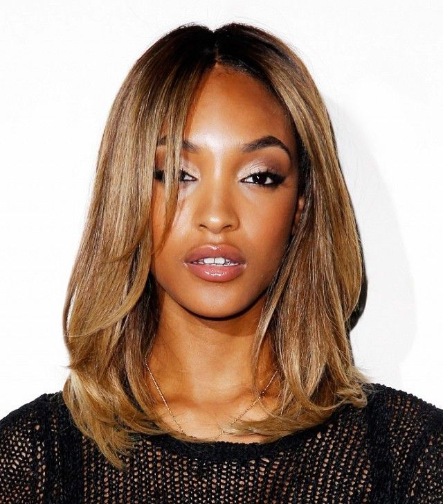 Best Hairstyles For 2017 2018 Loving Jourdan Dunn S Shoulder Length Blunt Lob Flashmode Middle East Middle East S Leading Fashion Modeling Luxury Agency Featuring Fashion Beauty Inspiration Culture