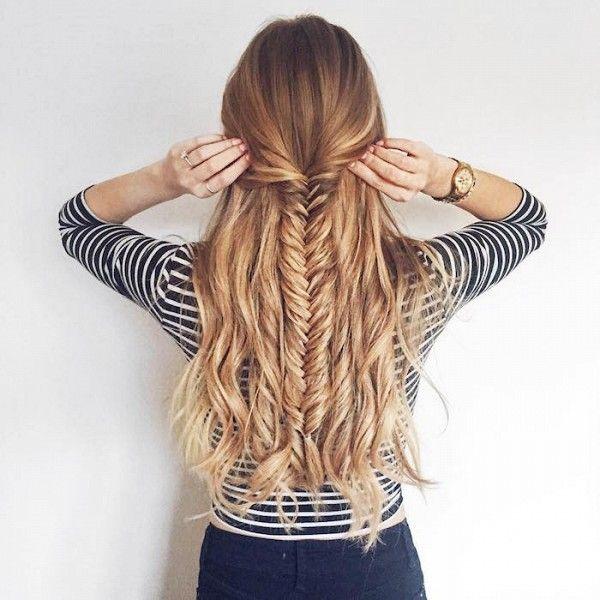 Statement fishtail braid