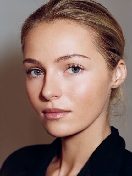 Beauty Inspiration: glowing skin with natural looking makeup | allure.com