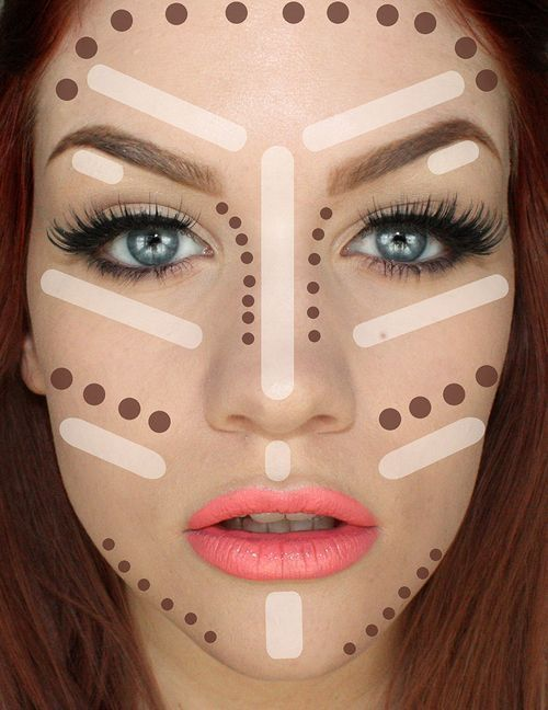Contouring Tutorial: How To Make Face Look Slimmer. Best tips on how to achieve ...