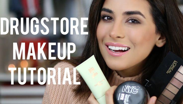 Drugstore Foundation Makeup Tutorial (EASY)