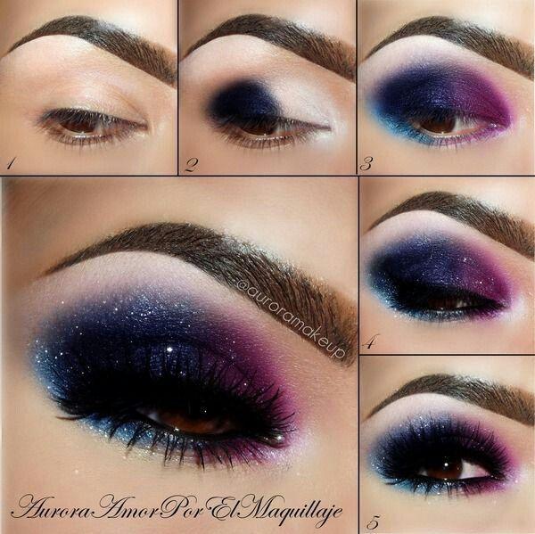 Galaxy Eyes.. Stunning for brown eyed girls!