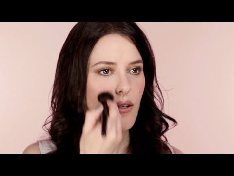 Great bridal makeup tips. All about the thin layers. I'd swap the purple sha...
