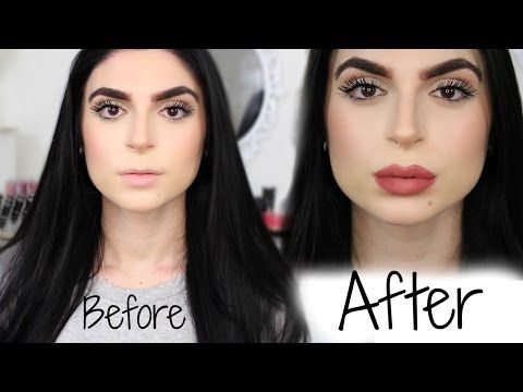 How To Make Your Lips Look BIGGER, Fuller, Plumper, in 5 minutes! - YouTube