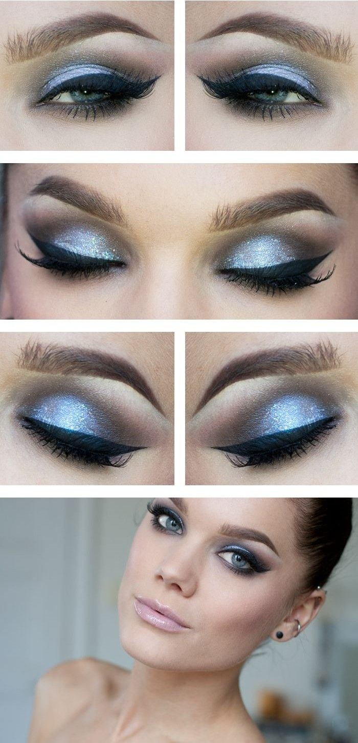 How To Smokey Eye Makeup Tutorial For Beginners Easy