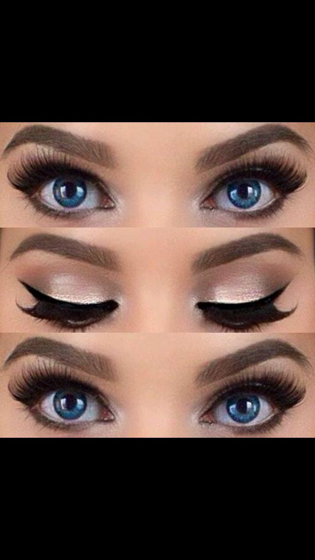 I don't usually like to wear fake eyelashes but this is so pretty