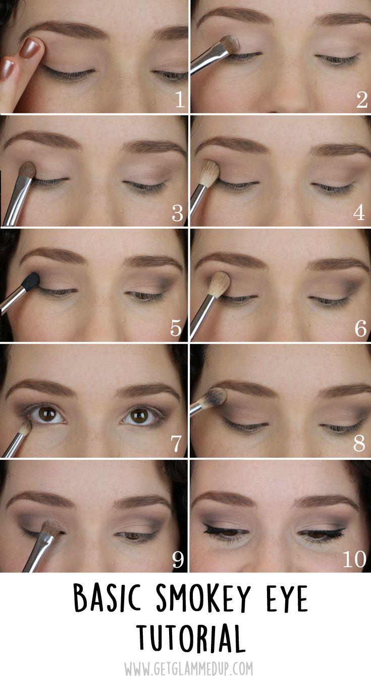 VIDEO: Easy Smokey Eye Tutorial for Beginners: GetGlammedUp