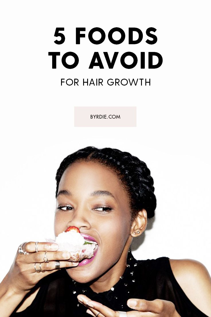 5 foods that won't give you longer hair