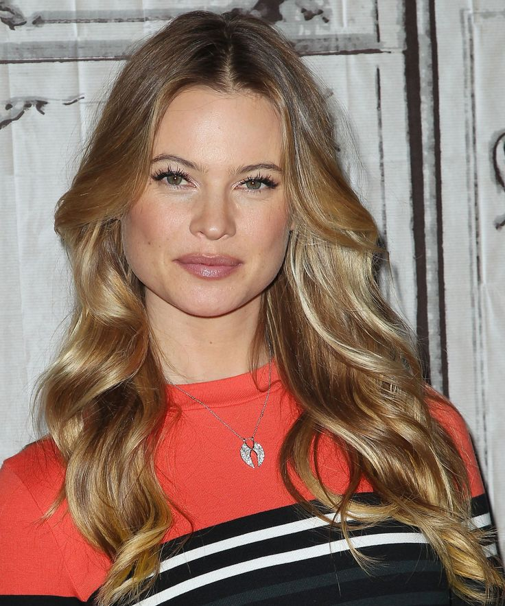 Behati Prinsloo's sun-kissed curls