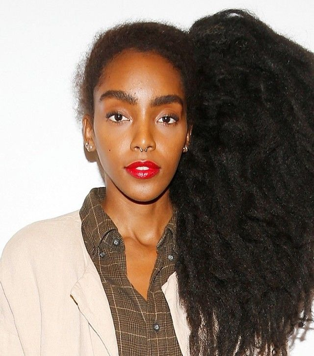 Cipriana Quann has made her natural hair her signature beauty statement and it&#...